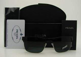 Authentic Prada Black Sunglasses 51O 51OS GAQ1A1 New