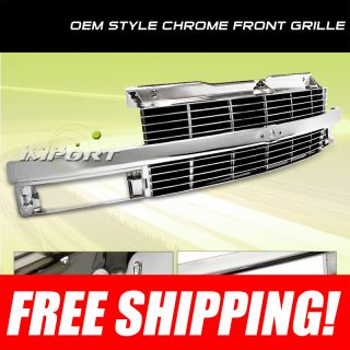1999 2005 Chevy Astro Van Sport Style All Chrome Front Grille Grill