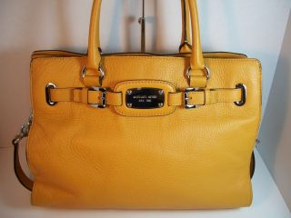 Michael Kors Hamilton E w Tote Bag Marigold Leather