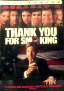 THANK YOU For SMOKING (2006)Aaron Eckhart Robert Duvall Katie Holmes