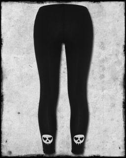 Abbey Dawn by Avril Lavigne Black White Skull Safety Pin Reputation