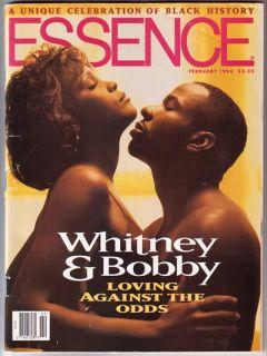Whitney Houston Bobby Brown 1994 Essence Magazine