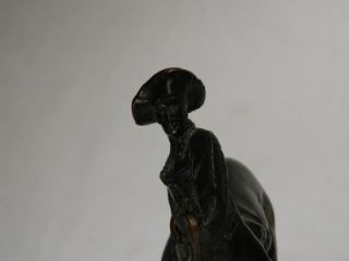 frederic remington outlaw bronze sculpture