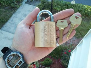 High Security Sargent Padlock Made by Assa Abloy
