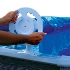 Above Ground Swimming Pool Solar Reel Cover 30X15