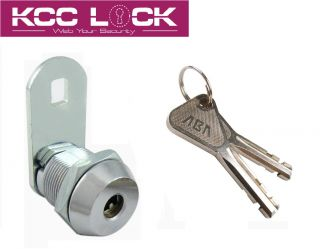 Cabinet Drawer High Security Abloy Mechanism Cam Lock 5/8 (S)
