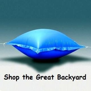 x8 Air Pillow Above Ground Pool Winter Cover Float 4 x 8 Mega
