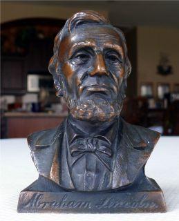 Promo Abraham Lincoln Bust Bank Union Savings Loan Lima Ohio