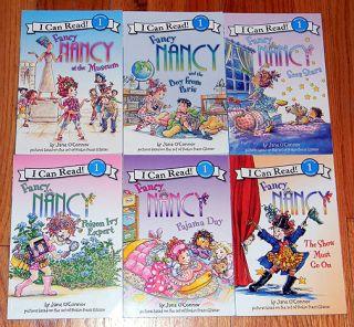 Fancy Nancy Children Reader Books Jane OConnor Level 1 Learn to