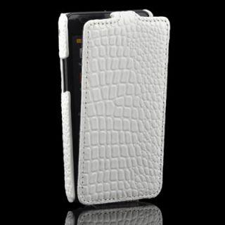 2EN1 Blanco Funda de Piel Funda Cuero Para Samsung Galaxy i9100 S2 II