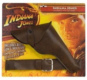 Indiana Jones Accessory Kit Gun Pistol Belt Holster New