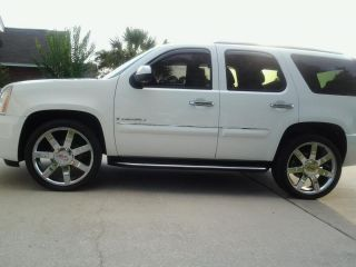 2011 GMC Yukon Denali 24 Wheels Rims Brilliant Chrome Finish 22