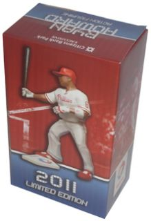 Philadelphia Phillies Baseball Ryan Howard 9 Action Figure Boxed 2011