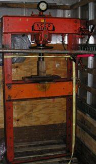 manufacture acco model hp 40 description acco hp 40 p1130 40 ton heavy