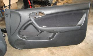 Acura RSX Front Door Panel Pair Black Left Right