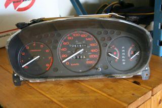 96 97 98 99 00 Honda Civic Domani Acura EL Instrument Gauge Cluster