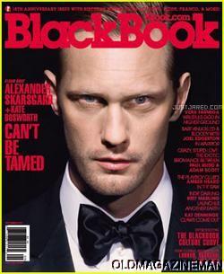 Alexander Skarsgard Blackbook September 2011 Black Book Kate Bosworth