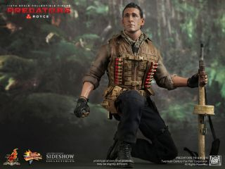 Hot Toys AVP Predators Royce Adrien Brody Figure SEALED in Brown Box