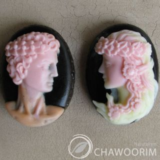 Adam & Eve 2pcs 1SET Silicone Molds,Soap Molds,Candle Molds for soap
