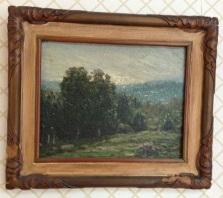 GUSTAVE ADOLPH WIEGAND OIL PAINTING (1870 1957)