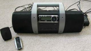Sirius Satellite Radio w/Boombox & Remote