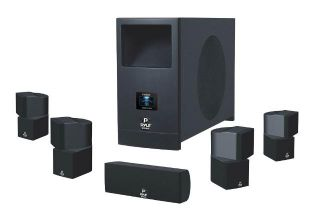 Home Theater System w Active Subwoofer and 5 Satellite Speakers