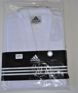 Adidas WTF Approved Adichamp III Taekwondo Uniform TKD DOBOK White V
