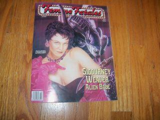 Fatales Magazine Sigourney Weaver Adrienne Barbeau Jennifer Tilly 1996