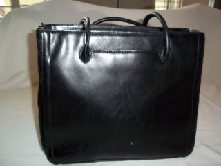 Adrienne Vittadini Pony Hair and Leather Purse Handbag