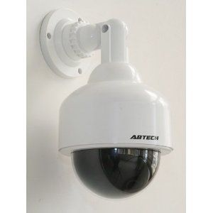 Outdoor Home Security Camera Mount Wall Security Flashing Light 180