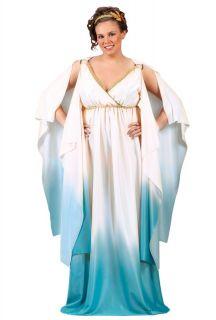 Sexy Roman Greek Goddess Plus Size Adult Halloween Costume 5778