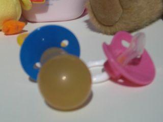 Adult Diaper Baby Man Passy Pacifier Blue Shield Binkie Nukkie NUK