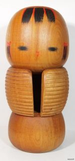 BEAUTIFUL VINTAGE JAPANESE SOSAKU KOKESHI DOLL by AIDA HARUMINE
