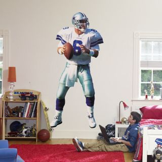 Troy Aikman FATHEAD Dallas Cowboys NFL Official Life Size Wall Graphic