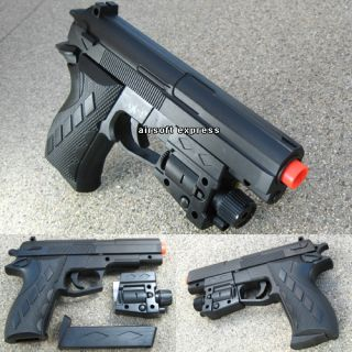 Airsoft Hand Gun Pistol Air Soft Toy Guns Laser w BBs