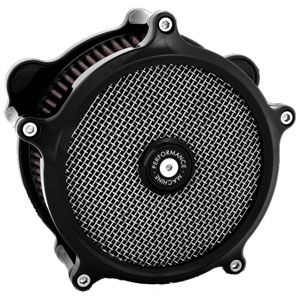 Performance Machine Super Gas Air Cleaner Black Harley Davidson XL