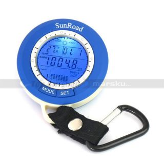 Fishing Barometer Altimeter Weather Air Pressure Thermometer