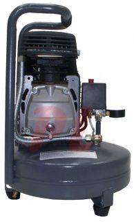 Portable 4 Gallon Electric Air Compressor Pancake 4 CFM 90 PSI