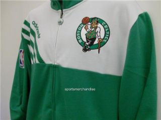 Boston Celtics NBA Adidas Officially Licensed Warm Up Jacket Large