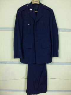 Air Force Dress Uniform Jacket and Pants 1980S