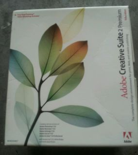 Adobe Creative Suite 2 Premium for Windows Includes 6 Discs