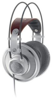 AKG K701 K 701 HEADPHONES PROFESSIONAL STEREO WHITE PRO OPEN BACK