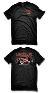 Girl Roadster Soul Punk Mens Black Shirt Rat Rod Tattoo Adrian