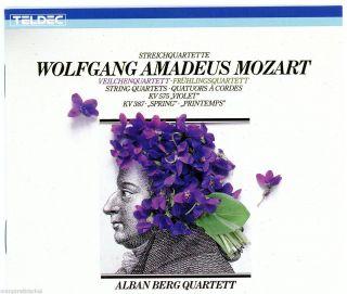 String Quartets K 387 575 See Track List Alban Berg Quartet CD
