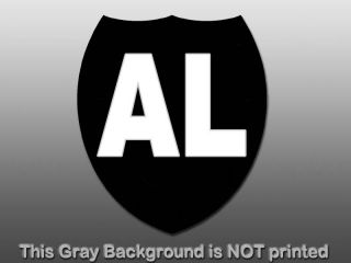 Al Davis Shield Sticker Decal Oakland Raiders Football Team Owner Rip