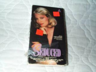 Seduced VHS Cybill Shepherd Adrienne Barbeau Jose Mel Ferrer Gregory