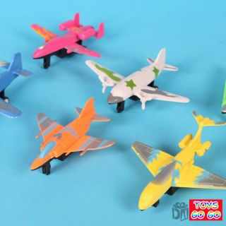 this bid for one pull back toy airplane great party favours we will