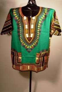 African Clothing Dashiki Top Hippie Retro Shirt Unisex