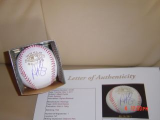 ST LOUIS CARDINALS ALBERT PUJOLS signed 2006 WORLD SERIES BASEBALL JSA
