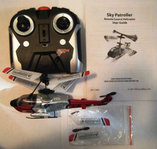 Air Hogs Remote Control Helicopter Sky Patroller